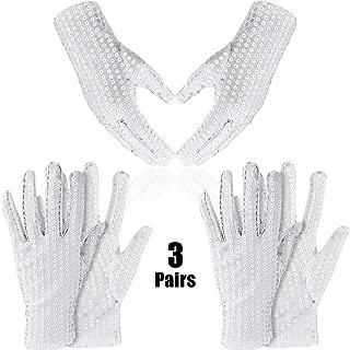 Best white sequin glove Reviews
