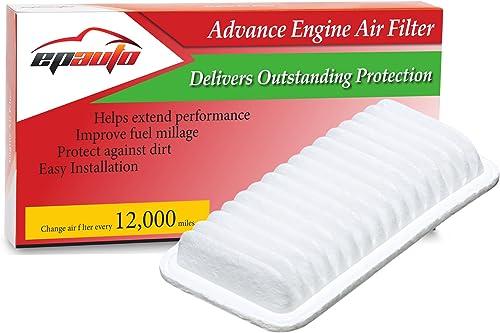 EPAuto GP482 (CA9482) Replacement for Toyota / Scion / Subaru / Pontiac Panel Engine Air Filter for Corolla (2003-200...