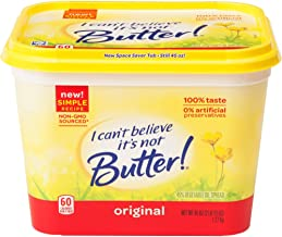 I Can't Believe It's Not Butter!, Margarine, 45 oz
