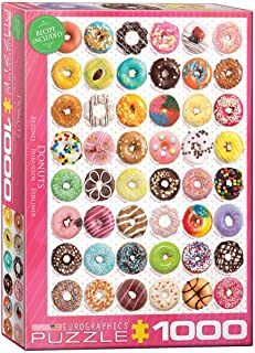 EuroGraphics Donuts Jigsaw Puzzle (1000-Piece) (6000-0585)