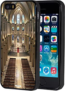 iPhone 5S Case,iPhone SE Case,AIRWEE Slim Anti-Scratch Shockproof Silicone TPU Back Protective Cover Case for Apple iPhone 5S/SE/5,Notre Dame Cathedral