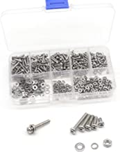 HH FASTENERS M2 x 8mm Wafer Head Machine Screws,Laptop Screws,Head Dia.5mm,Metric,Right Hand,Pack of 50