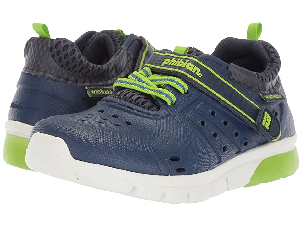 Stride Rite Made 2 Play Phibian Lighted (Toddler/Little Kid) (Navy) Boy