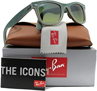 4b261ce9ef0 Ray-Ban RB2140 Sunglasses Blue Jeans w Green Gradient (1166 3M)