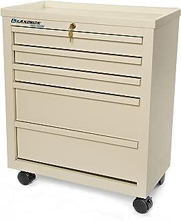 Lakeside BV05 Super Saver 5-Drawer Bedside Cart, 29