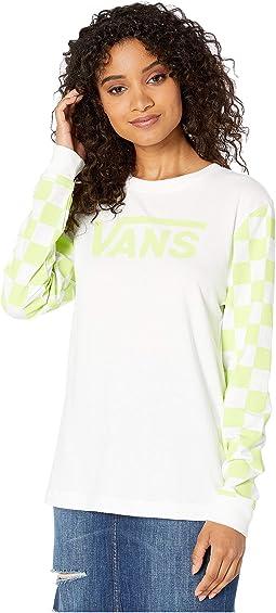 White/Sharp Green