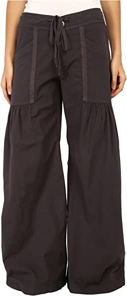 XCVI - Willow Wide Leg Stretch Poplin Pants