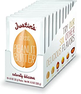 Classic Peanut Butter Squeeze Packs, Only Two Ingredients, Gluten-Free, Non-GMO, Responsibly Sourced