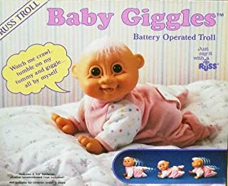 Russ Troll Crawling Baby Giggles - Battery Operated Troll