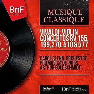 Vivaldi: Violin Concertos RV 155, 199, 270, 510 & 577 (Mono Version)