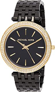 Michael Kors Womens Quartz Watch, Analog Display and Stainless Steel Strap MK3322