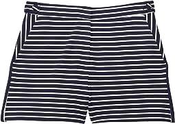 Aria Yarn-Dye Knit w/ Sequin Shorts (Big Kids)