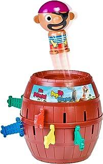 TOMY - Pic Pirate Jeux de Société pour Enfants, Jouet pour Noël,Jouet Enfant 4 ans, Jeu Rigolo pour Groupes, Cadeau Annive...