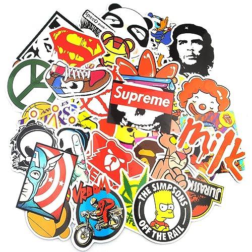 Sticker Pack (200-Pcs), Secret Garden Graffiti Sticker Decals Vinyls for Laptop,Kids,Teens,Cars,Motorcycle,Bicycle,Skateboard Luggage,Bumper Stickers Hippie Decals bomb Waterproof