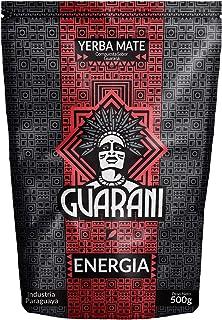 Guarani Energia Yerba Mate 500g | Guarani Energia | Yerba Mate de Paraguay | Alta calidad | Yerba Mate Muy Estimulante | Yerba Mate con Frutas