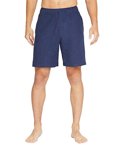 Nike Yoga Core Shorts (Midnight Navy/Gray) Men