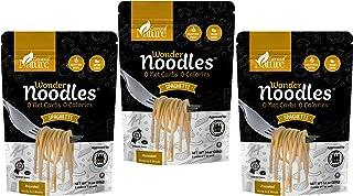 Wonder Noodles - Spaghetti - Carb-Free, Keto Pasta - Gluten-Free, Kosher, Vegan, Zero Calories - ready to eat (Includes 3 ...