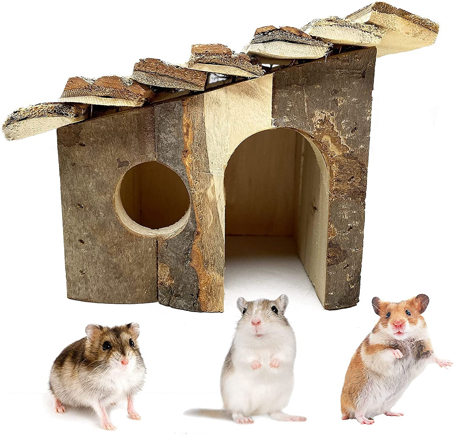 Toylord Hamster Wooden House Small Climbing Free Shipping Cheap Philadelphia Mall Bargain Gift Hideout Pet Hu Play