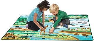 """Melissa & Doug Jumbo Habitats Activity Rug, 58 x 79"""""""
