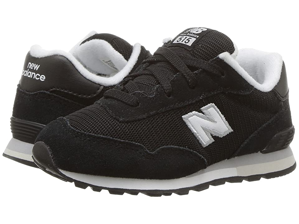 New Balance Kids IC515v1 (Infant/Toddler) (Black/White) Boys Shoes
