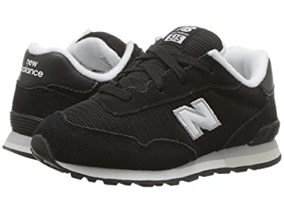 New Balance Kids IC515v1 (Infant/Toddler) (Black/White) Boys Shoes