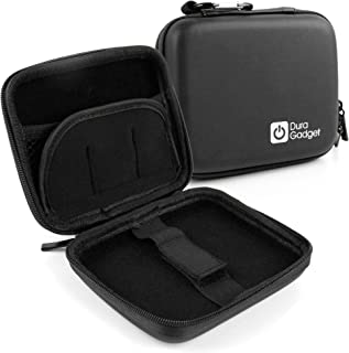 DURAGADGET Hard Shell EVA Box-Style Case in Black - Suitable for Use with Goodmans Pocket Sized Digital & FM Radio