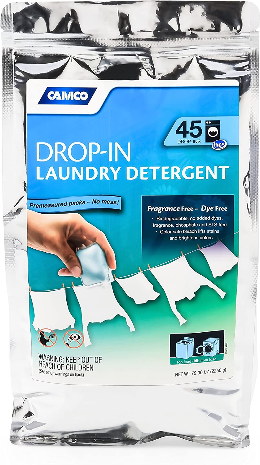 Camco 41591 Laundry Bargain Detergent 45 of Pack Lowest price challenge Drop-In