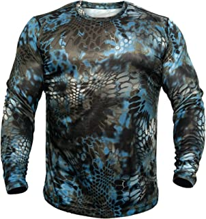 Kryptek Hyperion Long Sleeve Camo Shirt - Lightweight,...