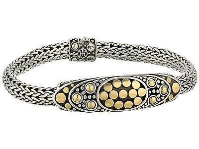 John Hardy Dot Jaisalmer Oval Station Bracelet (Gold/Silver) Bracelet
