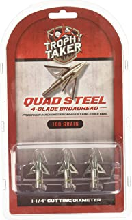 Trophy Taker T7200 Archery Broadheads, 100 Grain