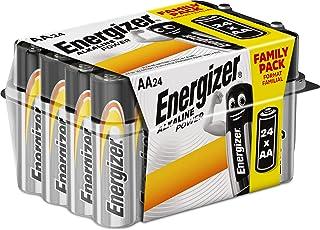 Energizer E91 - Pack de 24 pilas alcalinas AA color negro