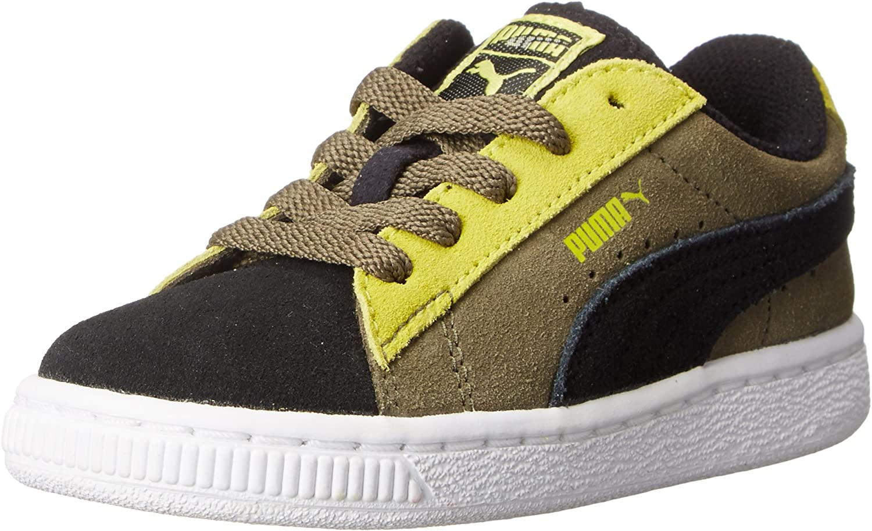 PUMA 5 ☆ popular Unisex-Child Safety and trust Suede Sneaker Kids