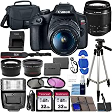 $439 » Canon EOS Rebel T7 DSLR Camera Bundle with Canon EF-S 18-55mm f/3.5-5.6 is II Lens + 2X 32GB Memory Cards + Filters + Preferred Accessory Kit