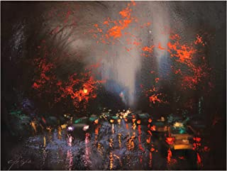 Trademark Fine Art Rainy Day 6 by Chin H. Shin, 24x32, Multiple Colors