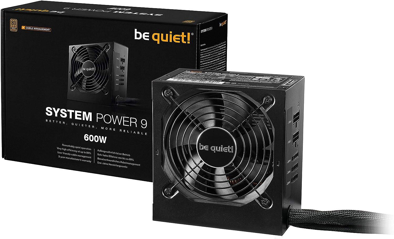 Be Quiet System Power 9 Atx Pc Netzteil 400w Cm Computer Zubehör