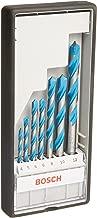 Bosch Professional - Juego de 7 brocas multiuso Robust Line CYL-9 MultiConstruction (4 5 6 6 8 10 12 mm)