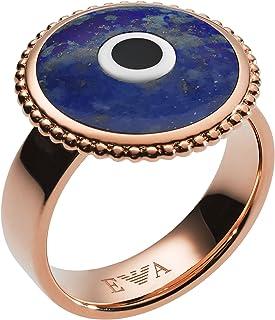 Emporio Armani Women Stainless Steel Ring - EGS2521221-6.5