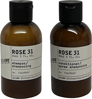 Le Labo Rose 31 Shampoo & Conditioner lot of 2 (1 of each) 3oz bottles.