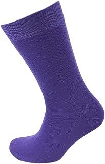 Viyella Plain Cotton Flat Knit Sock