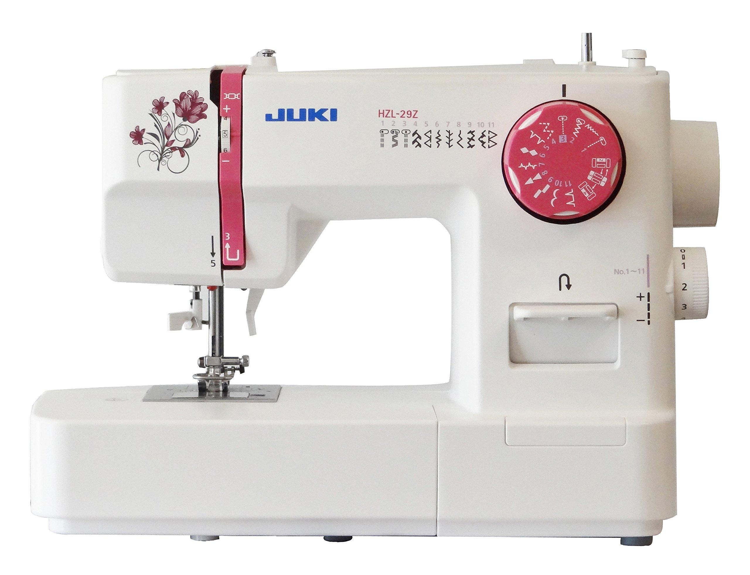 JUKI hzl-29z máquina de Coser mecánico Metal Blanco 36 x 15, 5 x ...