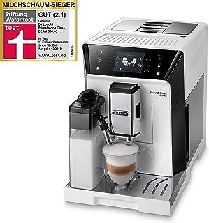 De'Longhi ECAM 556.55.W Cafetera automática, 1450 W, 2 Cups, Blanco