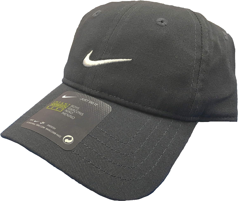 Nike Solid Swoosh Cotton Baseball Cap