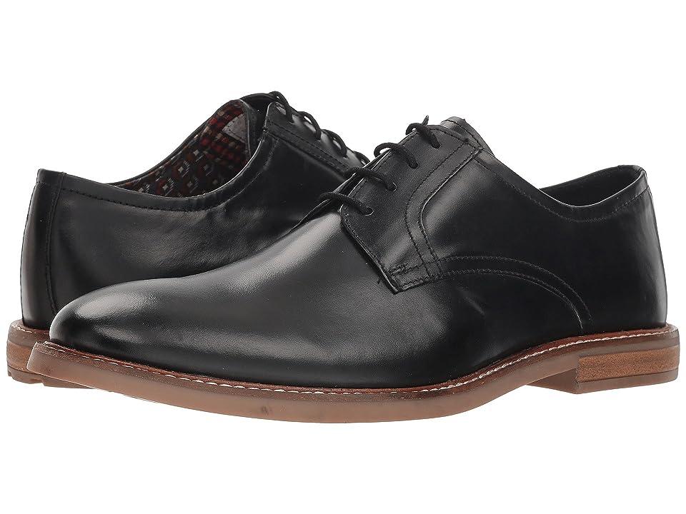 Ben Sherman Birk Plain Toe (Black Smooth) Men