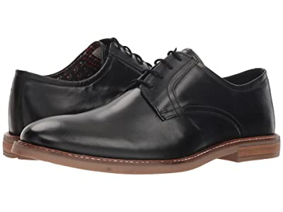 Ben Sherman Birk Plain Toe (Black Smooth) Men