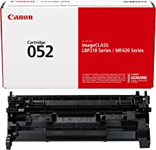 Canon Genuine Toner Cartridge 052 Black (2199C001),...