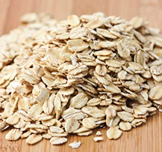 Kauffman's Fruit Farm Old Fashioned Regular Rolled Oats, Use these oats to make cookies, breads and heart healthy granola's or Serve as a hot breakfast meal, NON-GMO Bulk 50lb. Bag