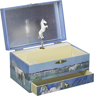 Trousselier TROUS60621 Horses Camargue Musical Jewellery Box