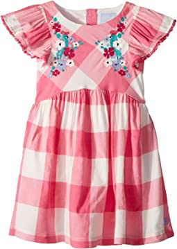 Joules Kids Woven Party Dress (Toddler/Little Kids)