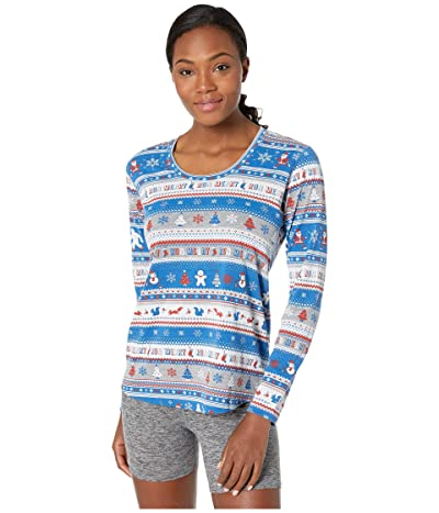 Brooks Ugly Sweater Long Sleeve (Run Merry) Women