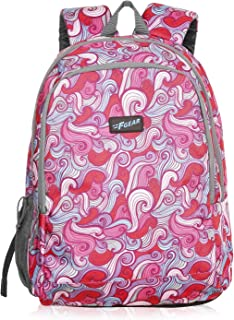 F Gear Castle Feather Pink Grey 22 Ltrs Casual Backpack (3353)